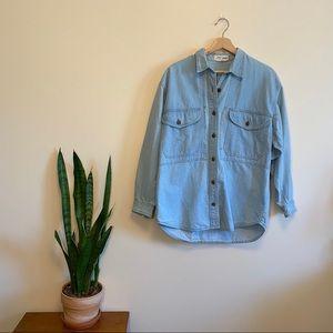 Vintage Denim Shirt / Chore Coat